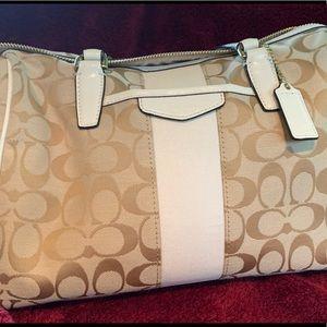 COACH Signature Handbag